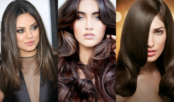 Hair colors 2017 for brunettes