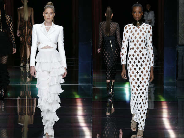 Balmain spring summer 2017 in Paris