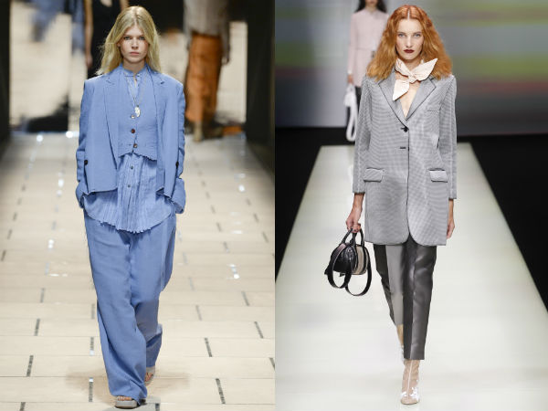 Oversize womens suits 2017