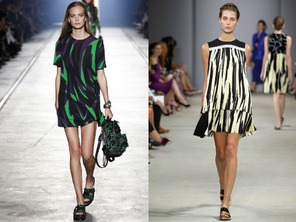 Summer printed tunics width=