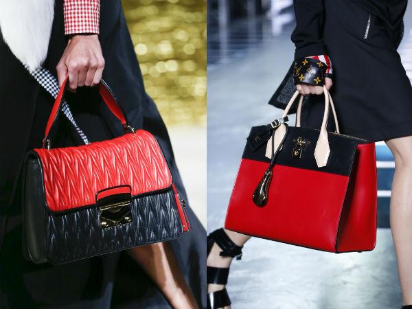 Louis Vuitton branded handbags