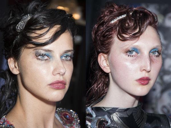 Makeup spring summer 2017: bright eyeshadows