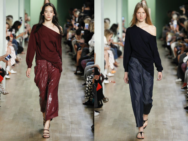 Sweaters with bare shoulders spring summer 2017
