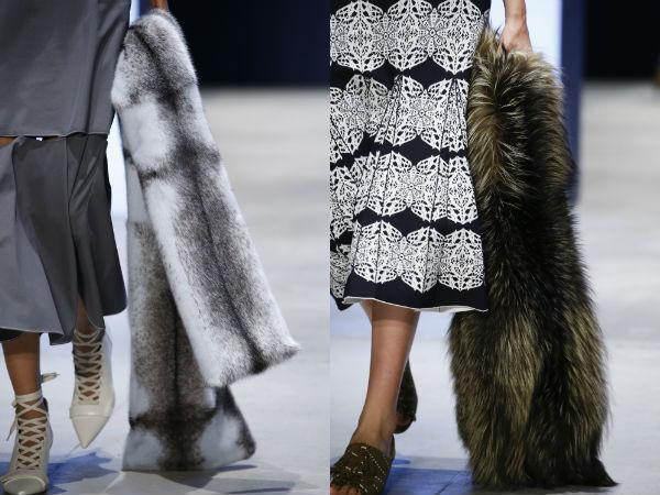 Fur accessories Spring Summer 2017