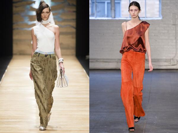 Asymmetric blouses 2017