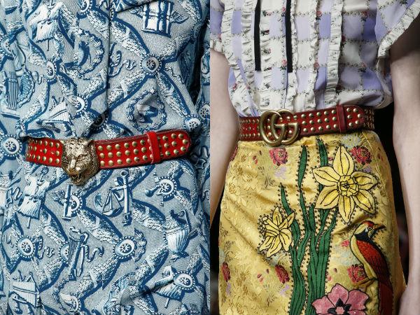 What belts to wear in 2017