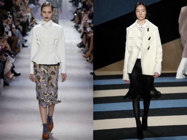 Fall Winter 2017 2018 Skirts: Fabrics