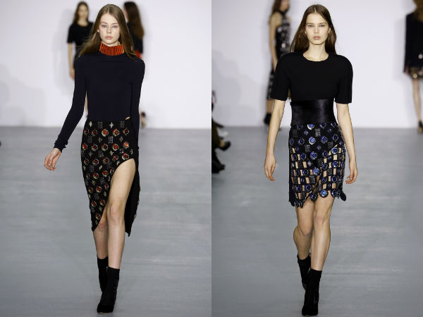 Fall Winter 2017 2018 Skirts trends: décor