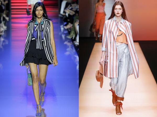 fashion vertical stripes