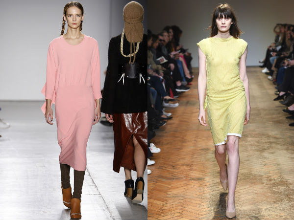 Fall Winter 2017 2018 Office Dresses: Colors and Prints