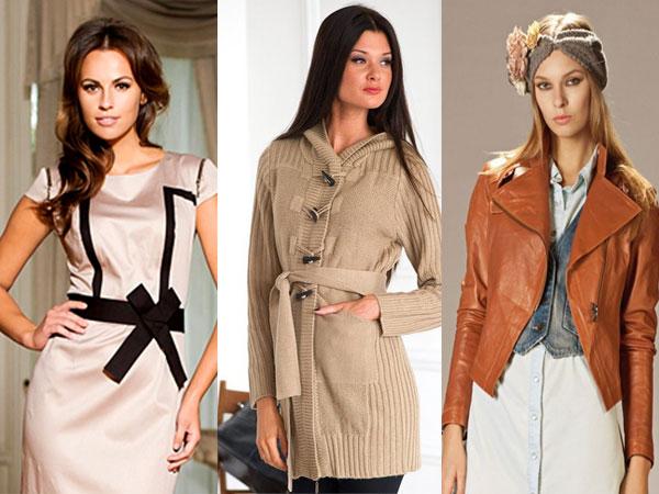 color combination brunettes