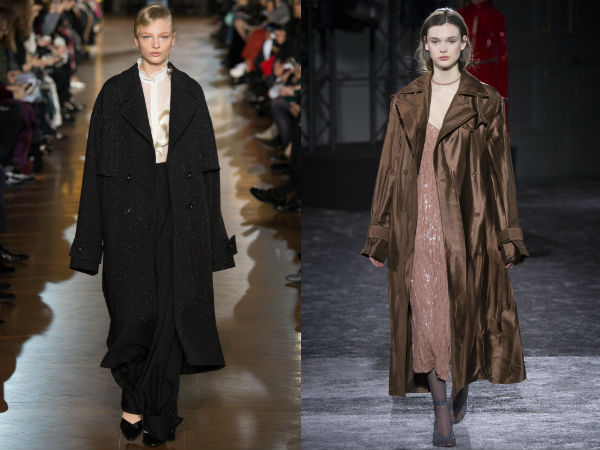 What coats to wear in Fall 2017