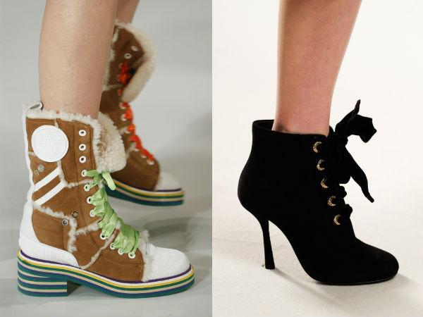 Medium heeled designs