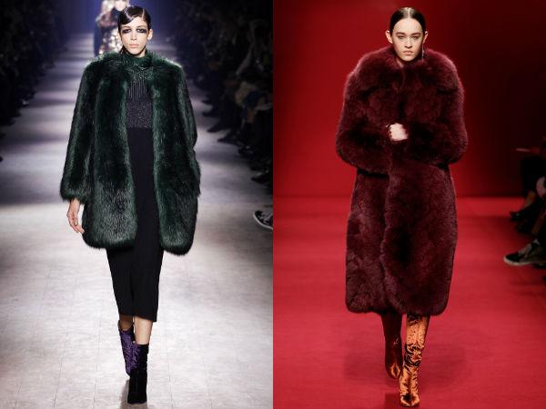 Fur Coats Fall Winter 2017 2018