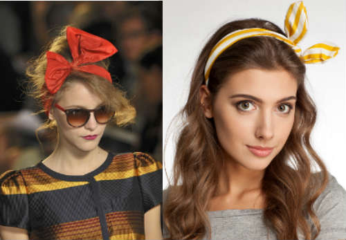 Easy hairstyles for long hair with accessories