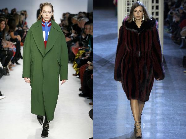 Oversize Coats Fall 2017 Winter 2018