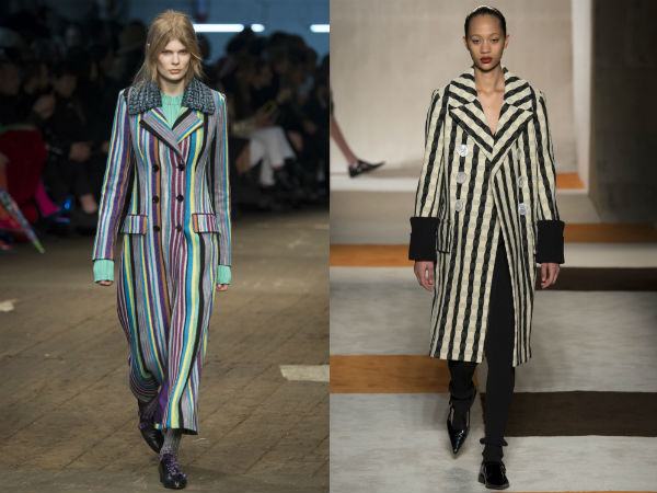 Women's printed coats Fall 2017