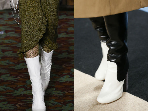 Boots Fall Winter 2017 2018: colors
