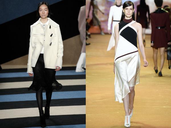 Black white clothes 2017 2018
