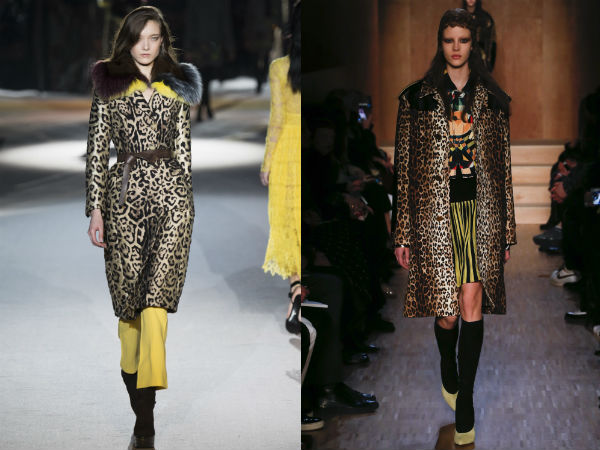 Trench coats designs with leopard print