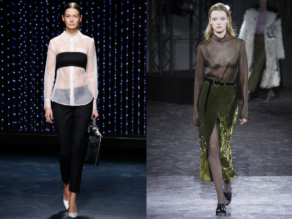 What blouses to wear in fall 2017
