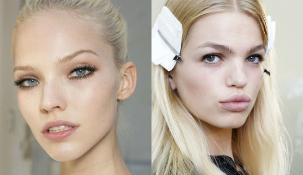 Day makeup for blondes