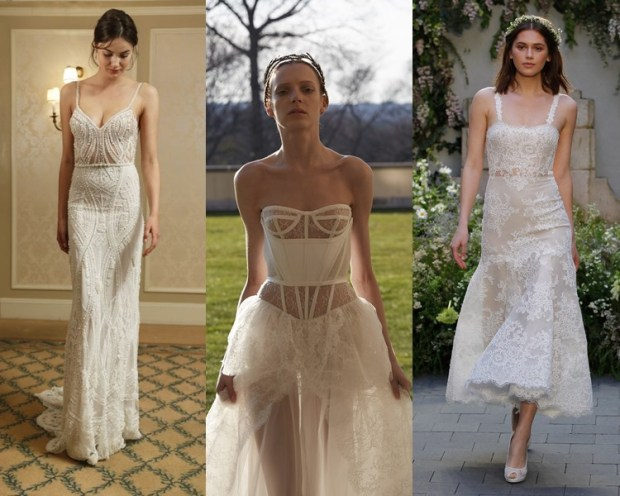 Wedding dresses 2018 lingerie style
