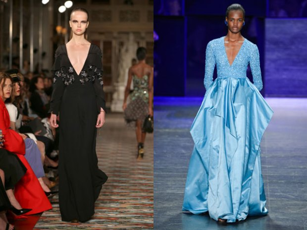 What evening dresses to wear in spring 2018