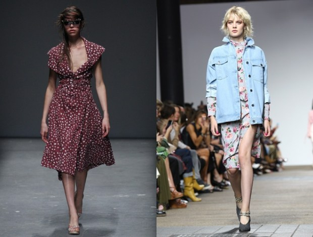 The style of the 80's at London Fashion Week