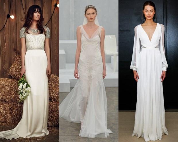Greek style wedding dress 2018