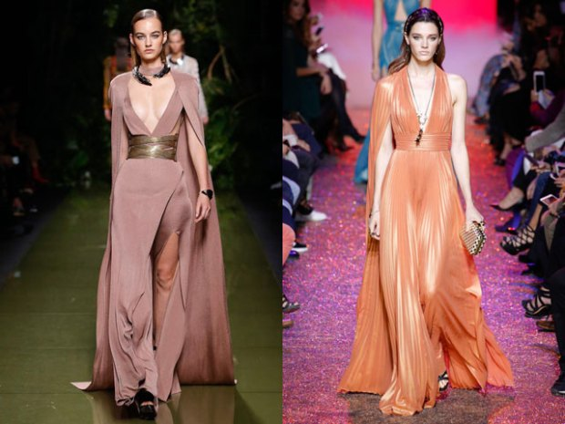 Evening dresses 2018 with train