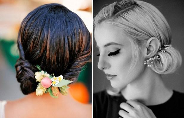 Wedding hairstyle 2018 short hair