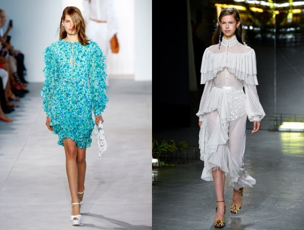 Frilles dresses at new York fashion week
