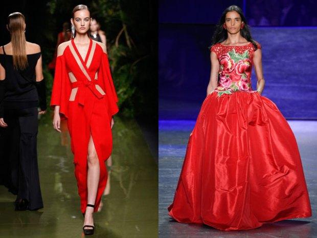 2017 spring summer red evening dresses