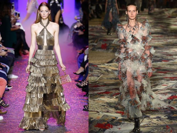 Evening dresses trends 2018
