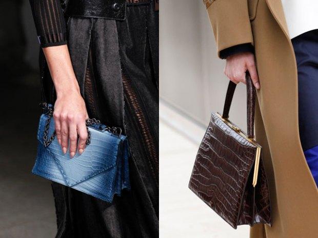 Reptile skin handbags 2018 spring summer