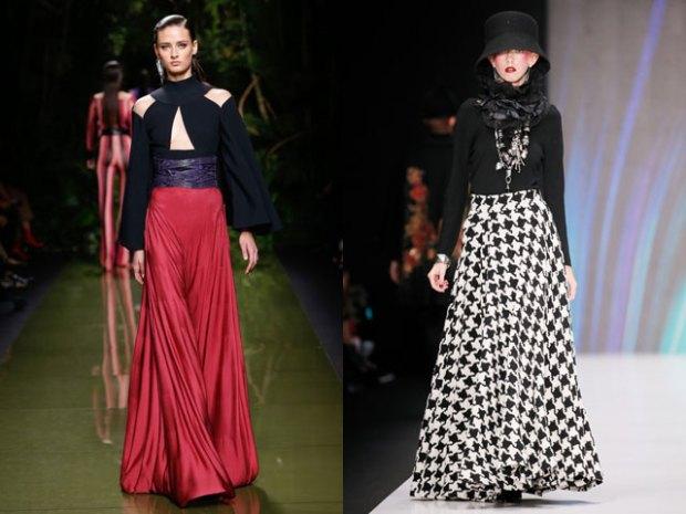 Maxi skirts design 2018