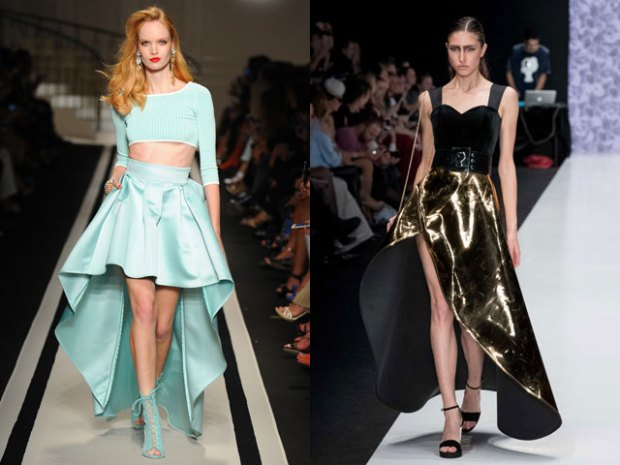 elegant skirts 2018 mullet