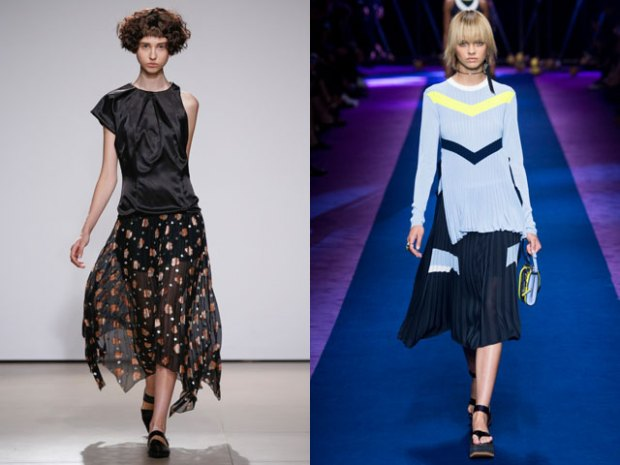 what skirts to wear in summer 2018