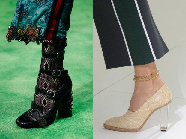 Footwear trends 2018