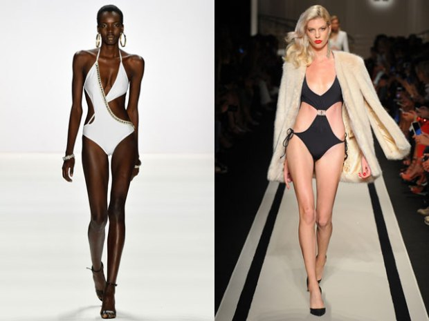 Swimsuits 2018 spring summer with cutouts