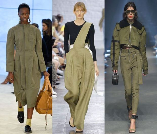 khaki color clothes