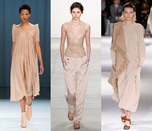 pastel colors spring summer 2018