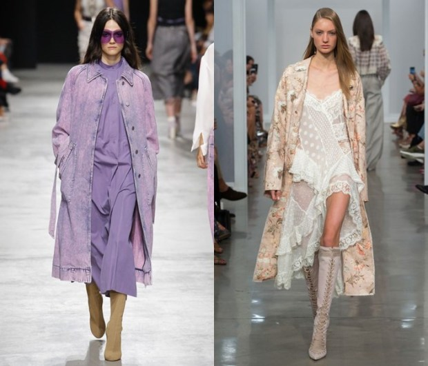 What coats to wear in summer 2018