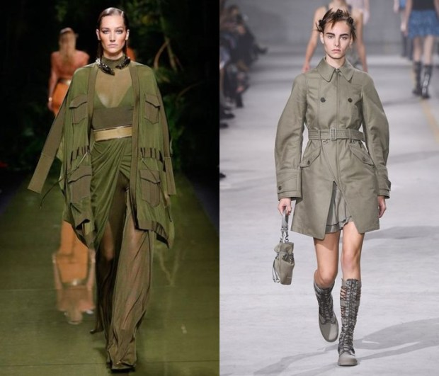 Best Coats 2018 military style
