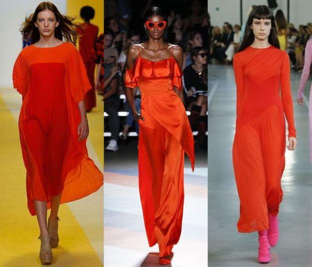 Fashion color dresses 2018