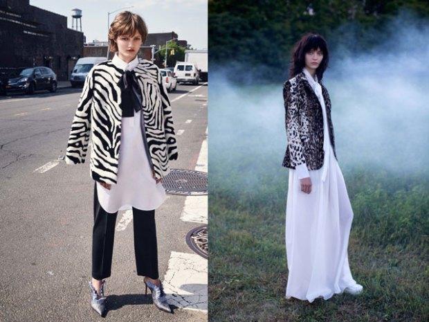 Women blazer with animal print 2018