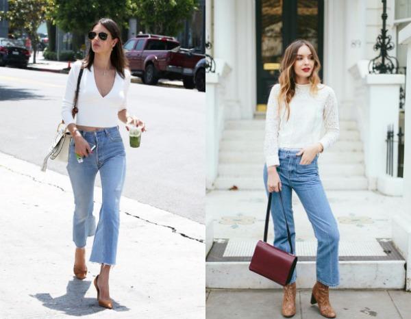 Capri jeans spring summer 2018