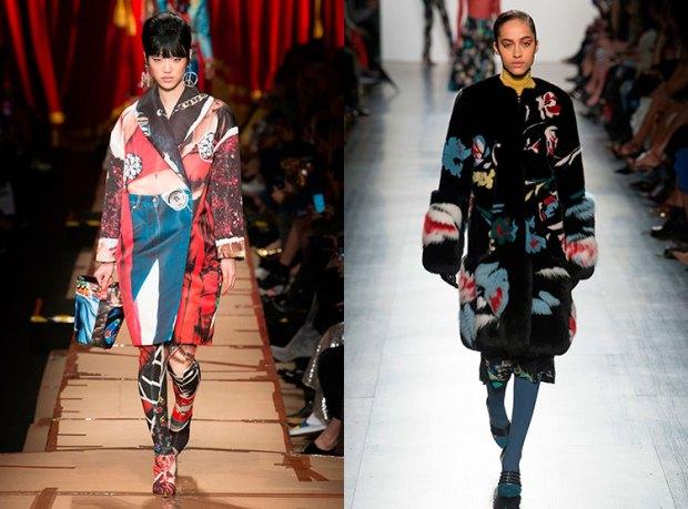trendy printed coat 2019