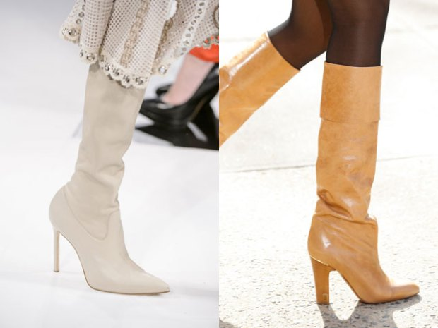Stylish women's leather boots